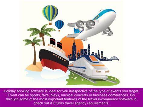 ecommerce software  travel agency  manage