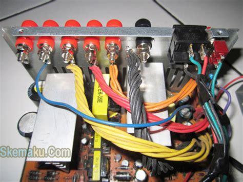 Charger Aki Motor Casan Adaptor Aki Tester Lu Mot Murah cara mengubah power supply bekas pc menjadi adaptor 187 skemaku