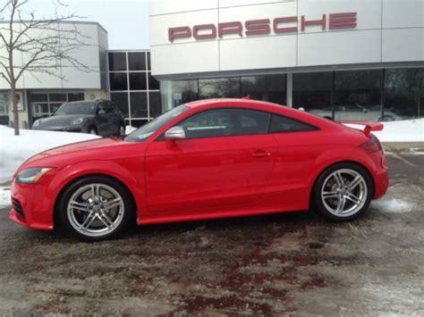Audi Tt Rs Manual Transmission by Sell Used 2013 Audi Tt Rs Coupe Manual Transmission One