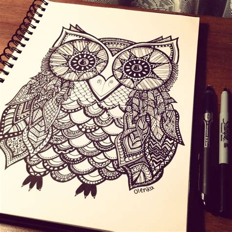 sharpie doodle ideas sharpie owl quotes