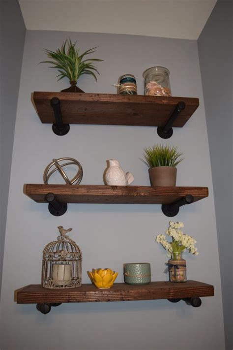 beautiful solid wood shelves     catch