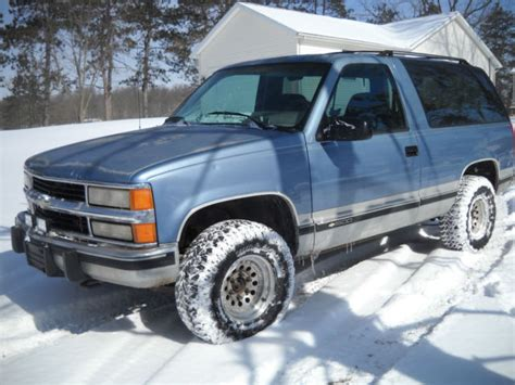 old car manuals online 1994 chevrolet blazer on board diagnostic system 1994 94 chevy blazer k5 full size 1500 5 speed manual 4wd no rust 350 sweet classic chevrolet