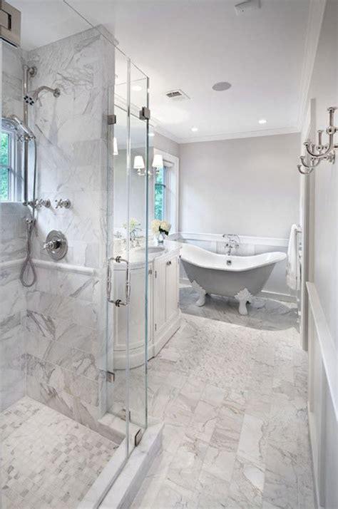 white stone bathroom tiles 29 white marble bathroom tile ideas and pictures