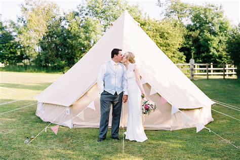 Wedding Bell Tent by Gling Weddings Weddings Tents Luxury Bell Tent Hire