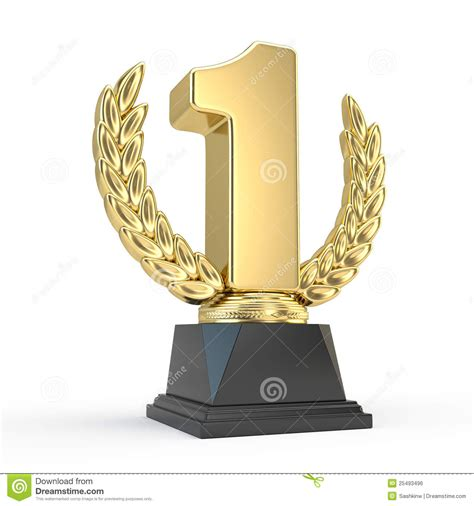 First Place Trophy Cup Royalty Free Stock Image   Image