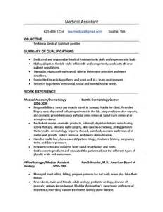 sle assistant resume free