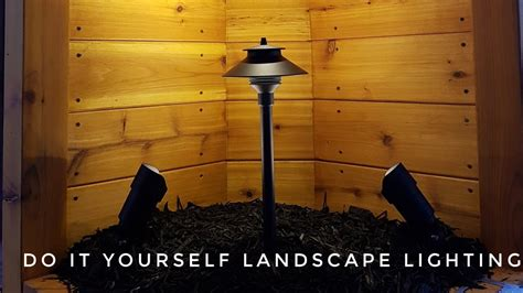 How To Install Landscape Lighting Do It Yourself Landscape Lighting How To Install Landscape Lighting