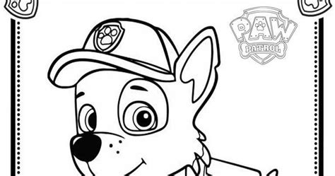 coloring pages paw patrol rocky rocky paw patrol free colouring pages