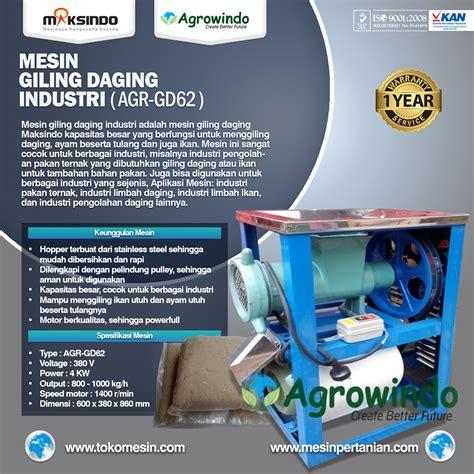 Mesin Gilingan Pakan Ternak mesin giling daging industri agr gd32 agrowindo