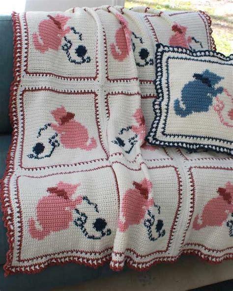 pattern for cat afghan 29 best crochet cat patterns images on pinterest