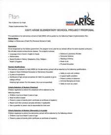 College Project Template 15 school project templates free sle