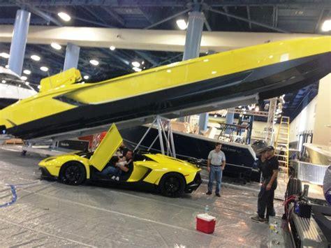 Lamborghini Boat Price 3 300 Hp Lamborghini Speedboat Matching Aventador