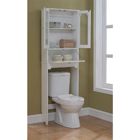 The Toilet Storage Bathroom Rack Remodelaholic 30 Bathroom Storage Ideas