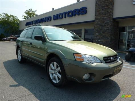 green opal car 2007 willow green opal subaru outback 2 5i wagon 33673930