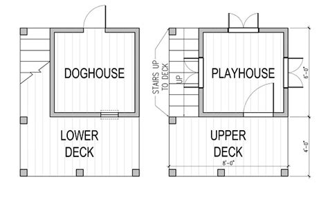 dog house floor plans evolution of doghouses the house designers
