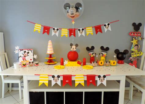 Decoration Mickey Anniversaire by Decoration Anniversaire Mickey