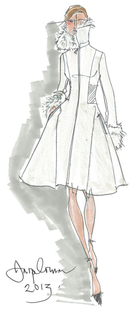 fashion design for ladies jasper conran designer coat sketch in sketches