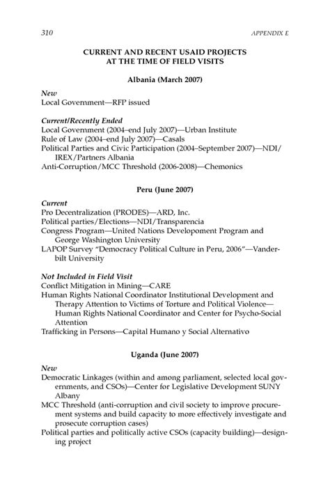 layout of a field report appendix e field visit summary report improving