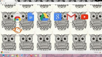 owl theme for google chrome owls chrome themes themebeta
