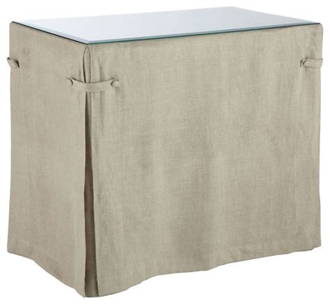 linen table skirt for all purpose table traditional