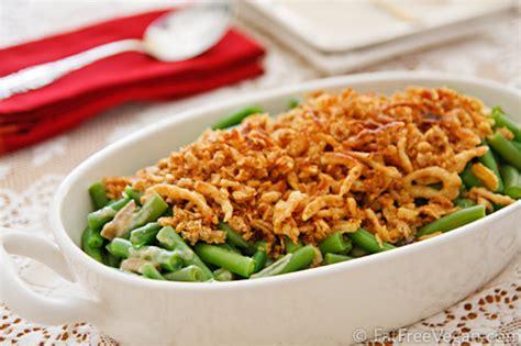 vegan green bean casserole recipe  fatfree