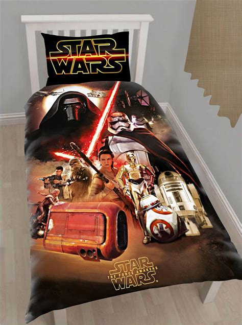 star wars bedding set star wars force awakens bedding design cover set 2 full or