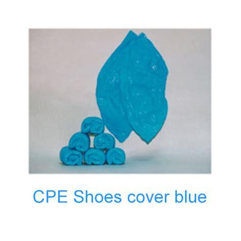 Sepatu Safety Takumi shoe cover blue cpe toko takumi