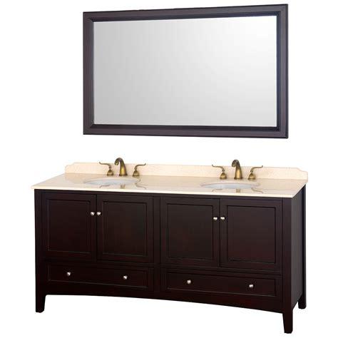 72 quot 72 espresso bathroom vanity bathroom