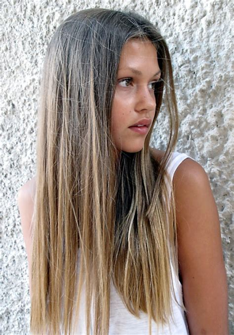 ombre color fake out arta chic