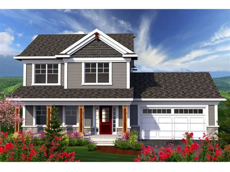 two storied house two story house plans small two story home plan for