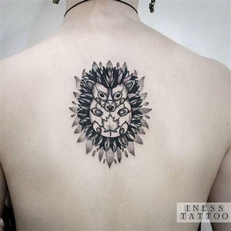 hedgehog tattoo 35 astounding designs amazing ideas