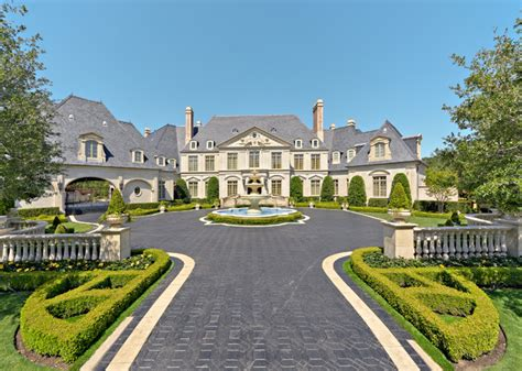 chateau design residence formal luxury traditional exterior dallas by harold leidner