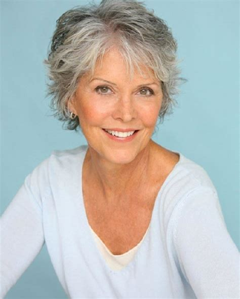 hair color for mature women short gray hairstyles for older women over 50 gray hair