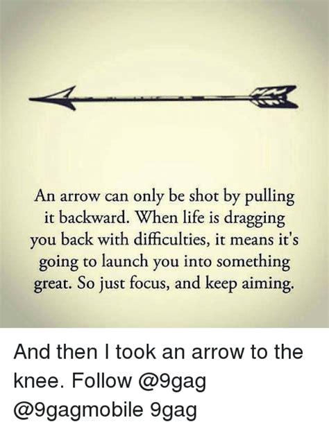 25 best memes about an arrow can only be shot an arrow