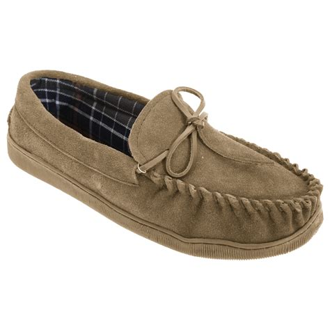 mocassin loafers sleepers mens adie real suede moccasin loafer slip on