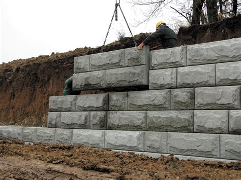 Home Design Building Blocks by Retaining Walls National Precast Concrete Association
