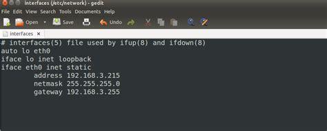configure ubuntu server wireless ubuntu static ip command line setting up an apple tv