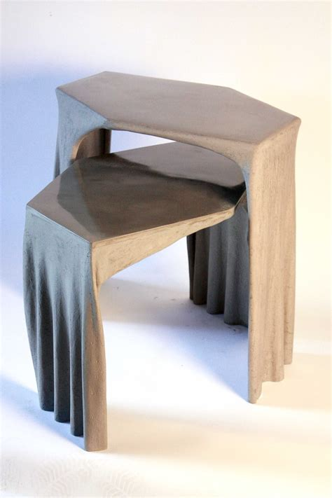 Fabric Coffee Table Where Architects Meet Concrete Fabric Concrete Coffee Table