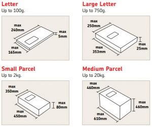 letter size mail dimensional standards template royal mail 2013 postage prices for franking and sts