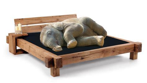bett vollholz elefanten doppelbett massivholzbett kiefer vollholz 140 x