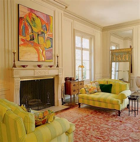 Yellow Living Room by Fashion Girls Living Room Ideas In Yellow
