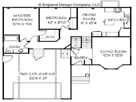 split level ranch floor plans split level ranch home level split house plans home plans