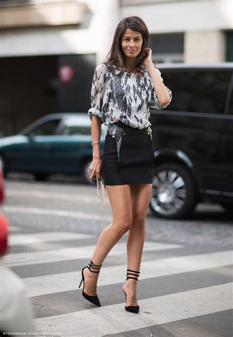 Mini Skirt Black White Jfashion denim mini skirt style 2014 2015 fashion trends 2016 2017