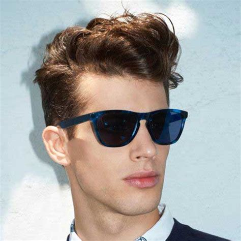 quiff hairstyle for boys 25 best haircuts for wavy hair men mens hairstyles 2018