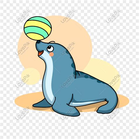 trend terbaru gambar animasi anjing laut nico nickoo