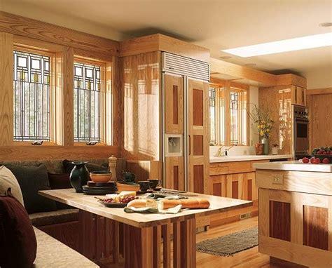 frank lloyd wright kitchen design prairie style kitchen featuring andersen windows with