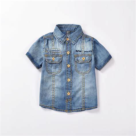 denim shirt for toddler high quality fashion boys sleeve denim shirt brand