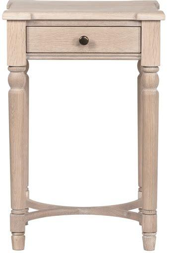 tall side tables bedroom neptune blenheim oak side table bedside furniture