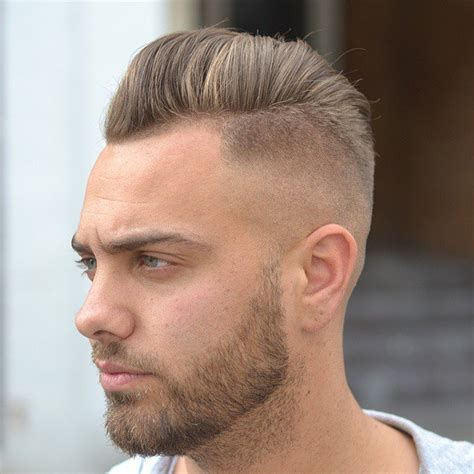 fade haircut lengths 40 modern pompadour hairstyles for men with images atoz