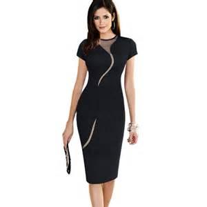 office dresses new arrival black bodycon dress 2016 fashion